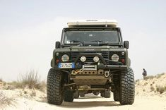 Land Rover #Defender equipped by #Corsetti Engineering.