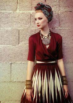 mode ethnique                                                                                                                                                      Plus