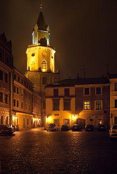 Trynitarska Tower, Lublin, Poland...