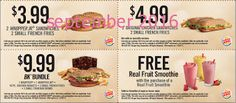 Burger King Coupons Promo Coupons will expired on MAY 2020 ! About Burger King Have a Burger King coupon at mealtime. Free Coupons Online, Free Printable Coupons, Free Printables, Wendys Coupons, Dollar General Couponing, Free Fast Food, Coupons For Boyfriend, Fast Food Chains, Love Coupons
