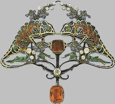 René Lalique bijoux  Links to many period pieces that are very nice.
