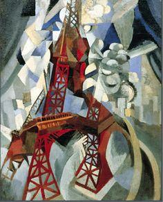 Eiffel Tower, Robert Delaunay