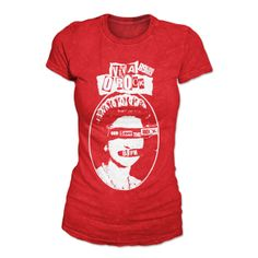Camiseta Feminina 89FM Rádio Rock - God Save The Rock