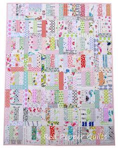 A non-quilty friend is having a baby - a baby girl - due late April, and of course every baby does need a quilt ... and a quilt makes a p...