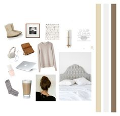 """""""C.O.Z.Y."""" by una-voce ❤ liked on Polyvore featuring interior, interiors, interior design, home, home decor, interior decorating, Magical Thinking, La Garçonne Moderne, Rosendahl and Toast"""