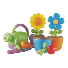 Learning Resources New Sprouts Grow It! My Very Own Garden Set, Multicolor