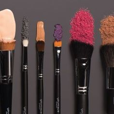 Brushes, brushes, brushes. An amazing set of brushes that will last. Soft on the face, easy to clean.