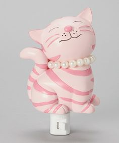 Another great find on #zulily! Cutest Kitty Night-Light by KingMax Product #zulilyfinds