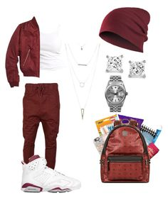 """Cali"" by life957 ❤ liked on Polyvore featuring I Love Ugly, Soaked in Luxury, MCM, Topshop, Charlotte Russe and Rolex"