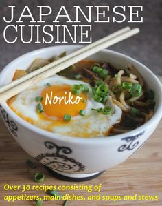 FREE on Kindle: Nov 3 ~~~  Over 30 Japanese recipes consisting of appetizers, main dishes, and soups and stews.