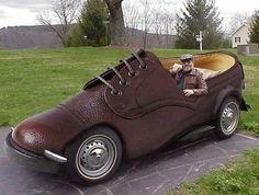 Funny Shoe Car