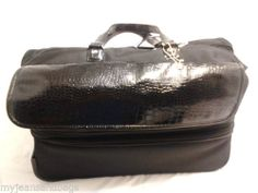 Joy Mangano Travel Bag Duffel Double Decker with Wheels