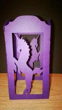 DIY Unicorn lantern by hilemanhouse on Etsy, $2.49