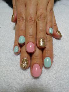 Spring/Easter Gel Nails!
