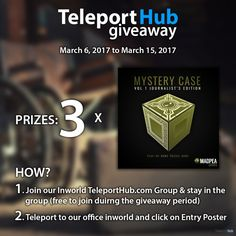 Teleport Hub's Mystery Case Vol. 1 Journalist Edition Game Giveaway
