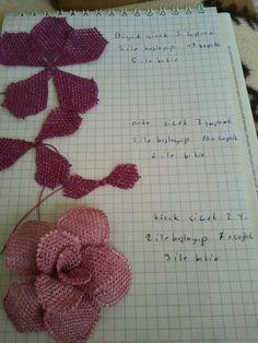 Ayşegül modeli Arts And Crafts, Notebook, Bullet Journal, Mavis, Tulle, Silk, Tejidos, Flowers, Craft Items