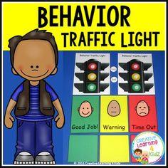 Phonics Sounds Chart, Behaviour Chart, Autism Classroom, Stop Light, Positive Behavior, Traffic Light, Behavior Management, How To Better Yourself, Special Education