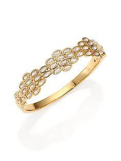 Beautiful delicate bangle bracelet that still makes a statement.