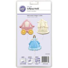 Fairy Tale Princess Lollipop Mold