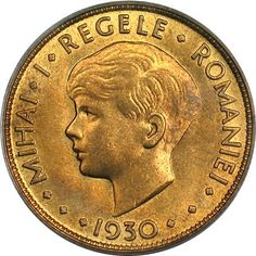 20 lei 1930 - King's Norton Metal Company, Birmingham Romanian Royal Family, Metal Company, Aur, Coin Art, Gold Money, Gold And Silver Coins, Hidden Treasures, Interesting Reads, Bucharest