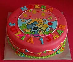 Afbeeldingsresultaat voor woezel en pip taart jongen