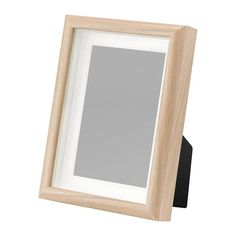 MOSSEBO Frame, white stained oak effect, cm. You can choose to frame your picture in different ways; close to the front or behind the box frame insert to add depth. Neutral, White Stain, Swedish House, Hanging Photos, Smart Storage, Quality Furniture, Box Frames, Home Accessories, Picture Frames