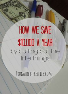 How our family saves $10,000 a year!