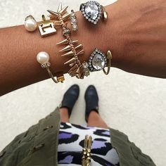 Nothing like a little arm candy to show your wrists some love. Repost from Instagram user @tatisbonilla