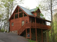 SAVE BIG SUMMER-Free Nts! Romantic Luxurious Cabin-Private-Secluded Escape /HTubVacation Rental in Pigeon Forge from @homeaway! #vacation #rental #travel #homeaway
