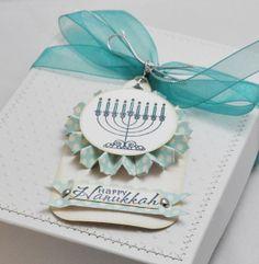 Hanukkah Gift Box And Tag by CardsandMoorebyTerri on Etsy, $12.00