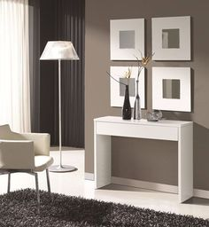 So LIKING the multiple mirror look for the foyer. Girl Bedroom Designs, Living Room Designs, Living Room Decor, Modern Bedroom Decor, Modern Decor, Christmas Bathroom Decor, Christmas Decor, Hallway Designs, Home Decor Furniture