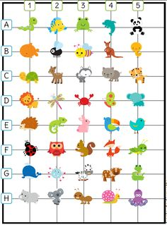 Marking and moving in the grid Printable Preschool Worksheets, Math Worksheets, Cooperative Learning, Kids Learning, Math Games, Math Activities, Montessori Math, French Classroom, Coding For Kids