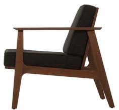 Muebles de madera estilo vintage Casa9 Ideas Vintage Mexico   Sillón Urban