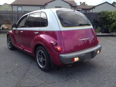 PT CRUISER PROJECT.  Two tone paint