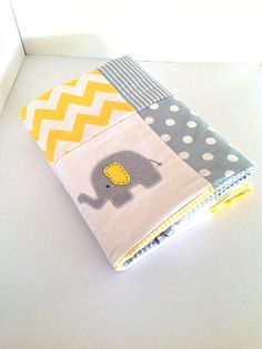 Elephant  Baby  Crib Quilt Made after you order by AlphabetMonkey, $165.00