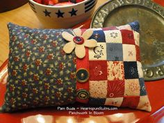 patchwork pinkeep - free pattern & instructions in link