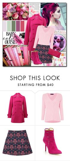 """""""Pink"""" by gracijabakrac ❤ liked on Polyvore featuring Michael Kors, Polo Ralph Lauren, Charlotte Olympia, Unisa, women's clothing, women's fashion, women, female, woman and misses"""