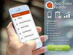 Diseño de banner informativo para la App Toma Pedido de Firsal. #Design #Graphic #App