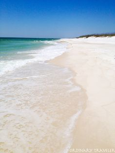 Shell Island in Panama City Beach, Florida - it is so gorgeous! Go on a tour with someone & your Captain will take you all over the place to see dolphins (& you get out & swim with them!) & all kinds of sea life!