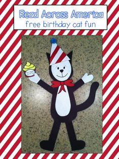 FREE:  Read Across America Craftivity; Dr. Seuss   schoolisahappyplace.blogspot.com