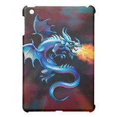 Shop Fire Breathing Dragon - iPad Mini Case created by ImGEEE. Fire Breathing Dragon, Ipad Mini Cases, Red Dragon, Dragons, Designers, Shapes, Kites