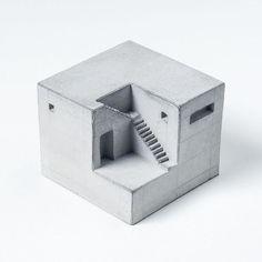 Miniature Concrete Home 9