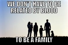 Thank you to my amazing extended family and friends for being the family I never had! Friendship Memes, Extended Family, Friends Family, Positivity, Shit Happens, Happy, Quotes, Movie Posters, Hockey
