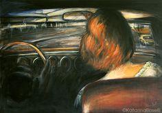 accelerate - peinture d'après la photo Los Angeles de l'artiste merveilleuse Simone Kappeler Collages, My Works, Illustration, Images, Photos, Painting, Graphic Design, Artist, Photography