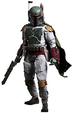 Hot Toys Star Wars 4 Return of the Jedi Boba Fett 14 Quarter Scale 18 Action Figure *** Check out this great product.Note:It is affiliate link to Amazon.
