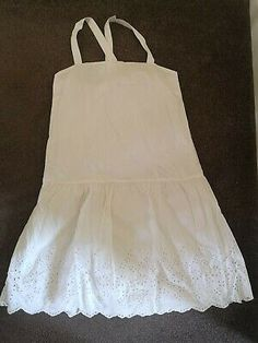 Uniqlo white broidery anglaisse dress, size s | eBay Takashi Murakami, Fat Face, Coral Pink, Seersucker, Uniqlo, Cotton Dresses, Size 12, Summer Dresses, Tees