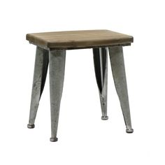Metal and Wood Brown Stool Brown), Jeco Table For Small Space, Chairs For Small Spaces, Small Dining, Rustic Vanity, Wood Vanity, Wood Folding Chair, High Top Tables, Ceramic Garden Stools, Leather Stool
