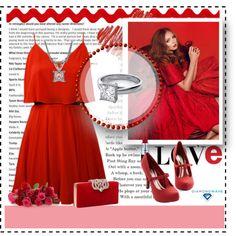 Diamondwave by isatusia on Polyvore featuring moda, Lavender Brown and diamondwave