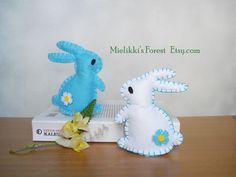 Idee Pasquali In Feltro : Decorazioni primavera. decorazioni pasquali. di mielikkisforest
