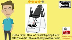 Invertio Premium Folding Inversion Table w/ Padded Backrest Inversion Table, Sports Equipment, Carl Lee, Therapy, Alarm Clock, Fitness, Connect, Hands, Popular